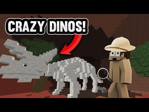 Download Youtube: INSANE MINECRAFT DINOSAUR ADVENTURE!   Minecraft Factions