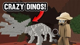 connectYoutube - INSANE MINECRAFT DINOSAUR ADVENTURE! | Minecraft Factions