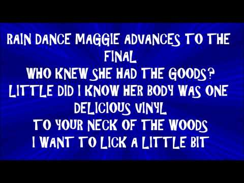 The Adventures of Rain Dance Maggie - Red Hot Chili Peppers Lyrics