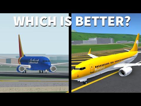 Flightline vs. Acceleration Flight Simulator, Which one is better? (ROBLOX)