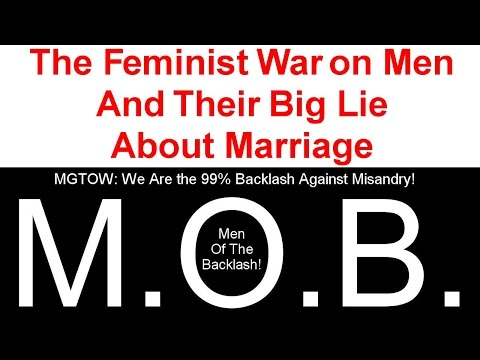 The Feminist War on Men - Antifeminism