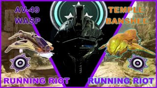 Halo 5: Guardians- Wasp & Temple Banshee DOUBLE Running Riot!