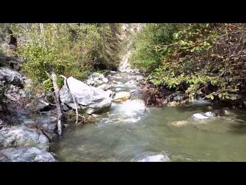 Gold Prospecting Los Angeles, Azusa Canyon East Fork of the San Gabriel River