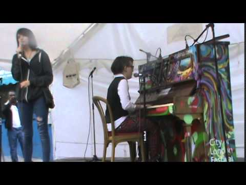 Acid Rain - Avenged Sevenfold cover by Ame Noire @ Herne Hill piano