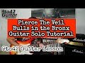 Bulls in the Bronx Guitar Solo Lesson Tutorial TAB
