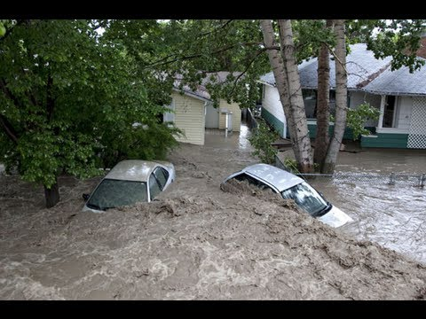 ALBERTA FLOODING - Canmore Bragg Creek High River Floods Calgary 2013 Flood News BY THE PUBLIC Video