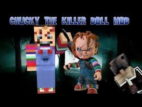 Review Minecraft Mod Chucky The Killer Doll