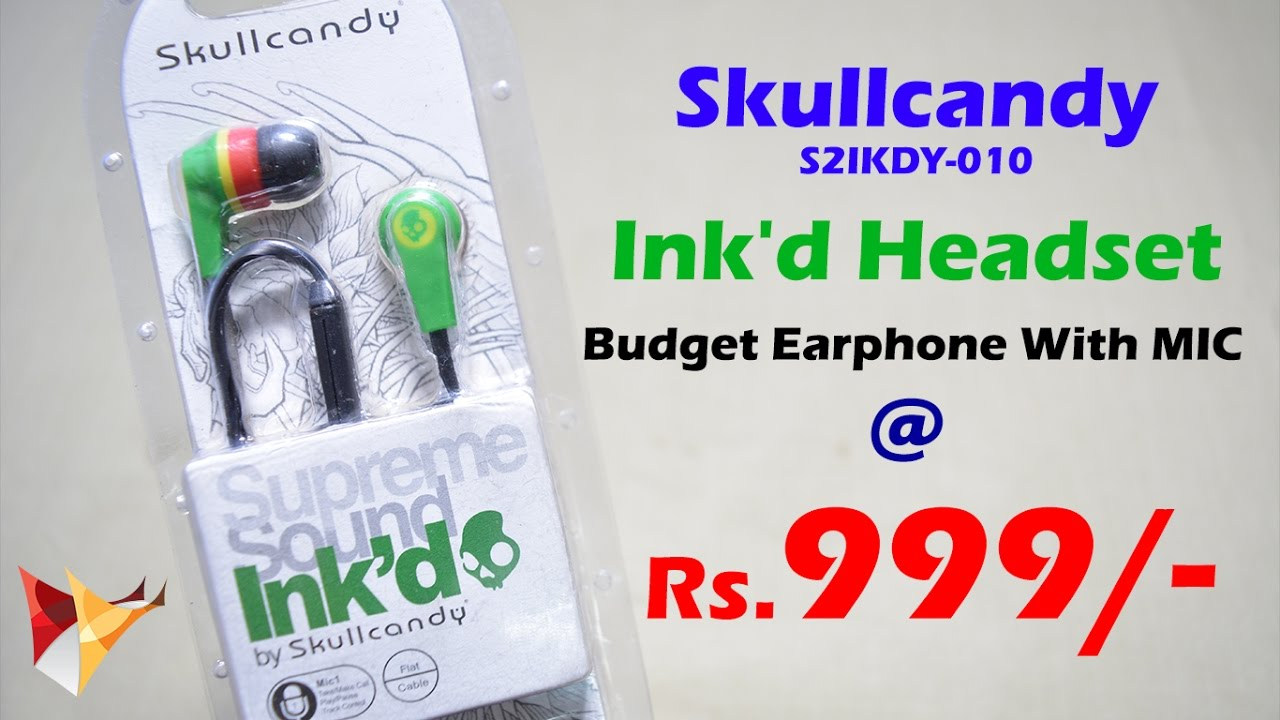 Skullcandy S2ikdy 010 Inkd In Ear Headphone With Mic Review Under 20 W 1 Black 1k Lets Find Out