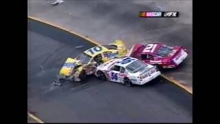 All NASCAR Crashes From Bristol 2001 (Busch Series)