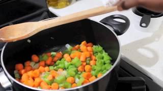 Weightloss & Detox Recipe:  Yam Stew With Swiss Chard