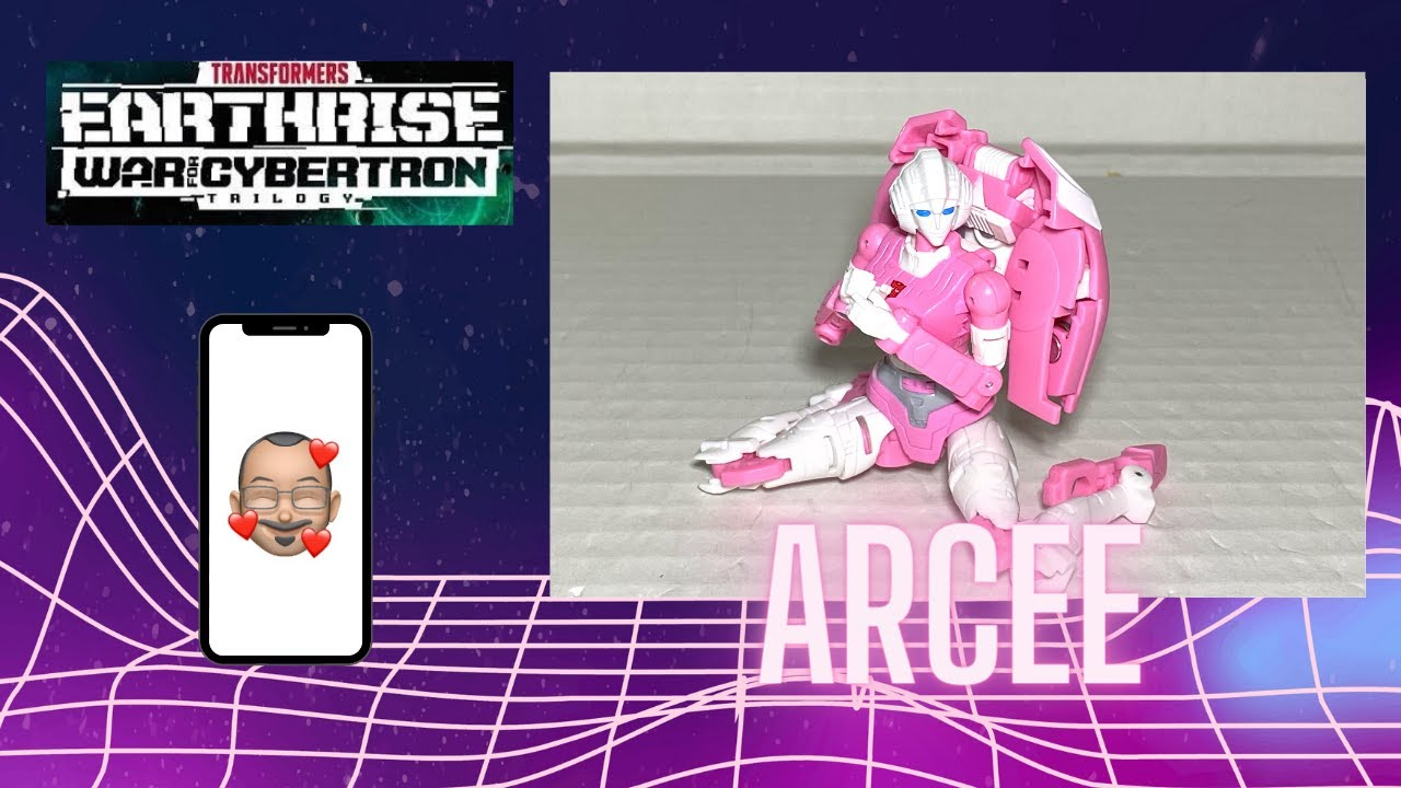Transformers Earthrise Arcee Video Review By Aikavari