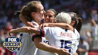 Aly Wagner: USWNT's Sam Mewis had 'a moment of brilliance' | Women's International Friendly