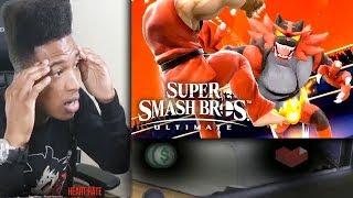 Etika Reacts to Incineroar & Ken Reveal Trailer - Super Smash Bros. Ultimate thumbnail