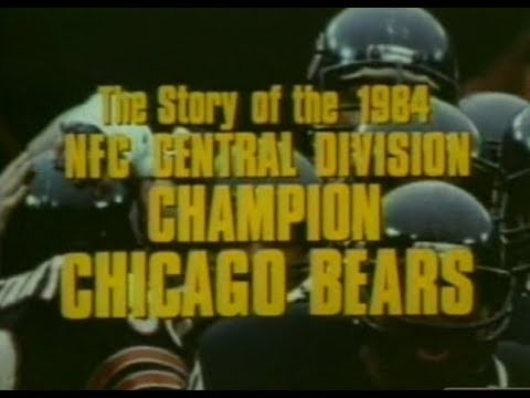 Chicago Bears 1984 NFL Yearbook