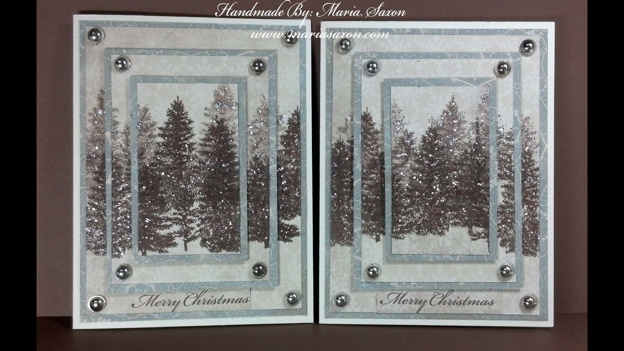 CTMH Triple Christmas Card Close To My Heart Second