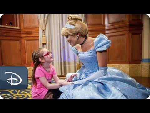 Walt Disney World Resort Helps 6-Year-Old Girl's Cinderella Story Come True
