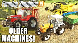 OLDER MACHINES IN FS19! FIAT, CASE & NH | Farming Simulator 19 | Fact Sheets 14-17