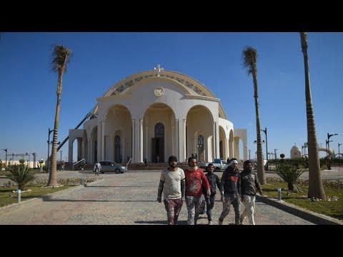مصر: تدشين كاتدرائية -ميلاد المسيح- ومسجد -الفتاح العليم- قرب القاهرة