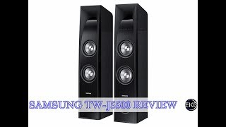 Samsung TW-J5500 Sound Tower 2.2 Channel | Review & Demo