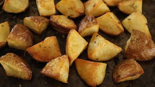 Crispy Roasted Potatoes - Episode 509 - Baking with Eda