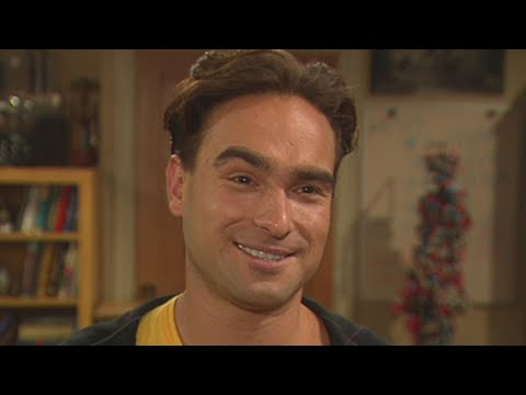 Watch Johnny Galecki on Set of Big Bang Theory in 2007 (Flashback)