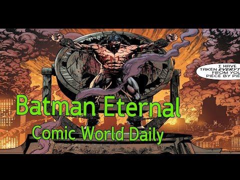 Batman Eternal Bruce Wayneจะต้องตาย!  - Comic World Daily