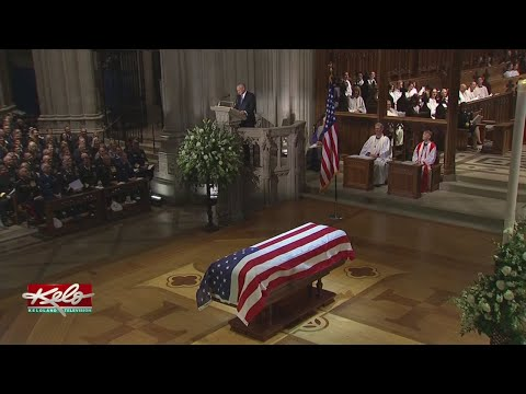Key Moments From The Funeral For President George H.W. Bush