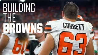 Austin Corbett gets mic'd up for first Browns home game | Building the Browns