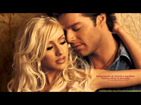 Ricky Martin & Christina Aguilera • Nobody Wants To Be Lonely [1080p+HQ-Audio]