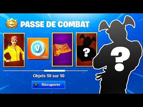 """VOICI en INTÉGRALITÉ """"LE PASSE DE COMBAT SAISON 8"""" DÉVOILÉ sur FORTNITE Battle Royal ! 😱 (énorme)"""