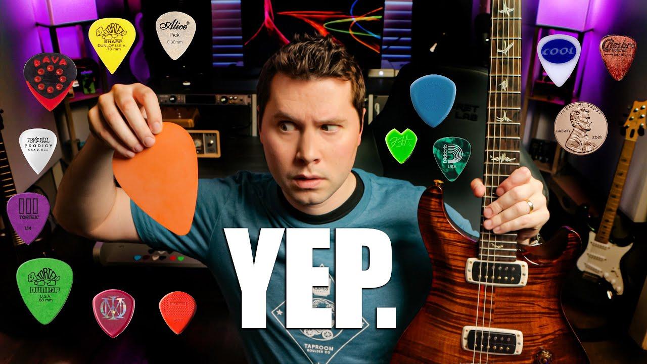 Do Guitar Picks Change Guitar Tone?