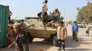 Heavy clashes break out in the south of Libya's capital Tripoli