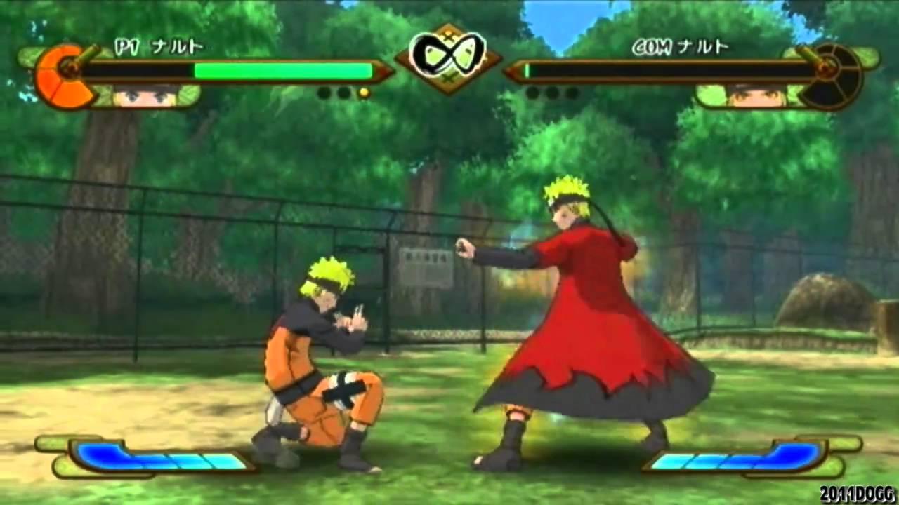Naruto Shippuden: Gekitou Ninja Taisen Special - Naruto vs Sage Mode Naruto【HQ】 - YouTube
