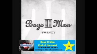 Boyz II Men - End of the road (Lyrics)