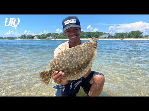 Surf Fishing In CRYSTAL CLEAR Long Island Waters (5 Species!!!)
