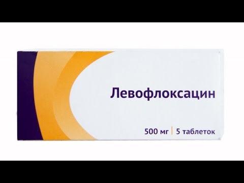Домашняя аптека- Левофлоксацин