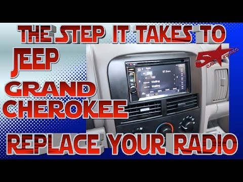 jeep grand cherokee radio wiring the steps it take to replace your radio  jeep grand cherokee youtube 2004 jeep grand cherokee radio wiring diagram jeep grand cherokee