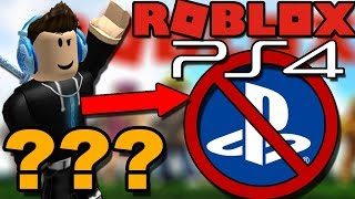 WHY ROBLOX IS NOT ON PS4 - Will it Release and Come To PS4?