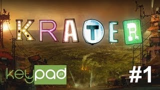 Krater - gameplay #1 @keypadTV