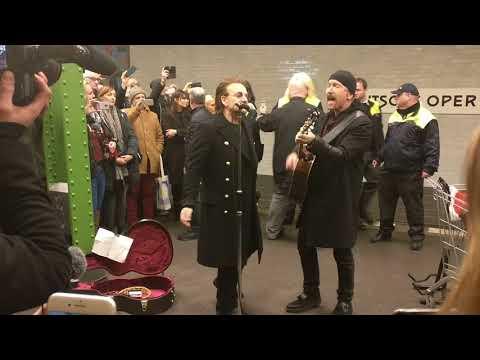 U2 live in Berlin, 6.12. 2017