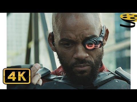 Знакомство с Дэдшотом. Бэтмен против Дэдшота | Отряд самоубийц | 4K ULTRA HD