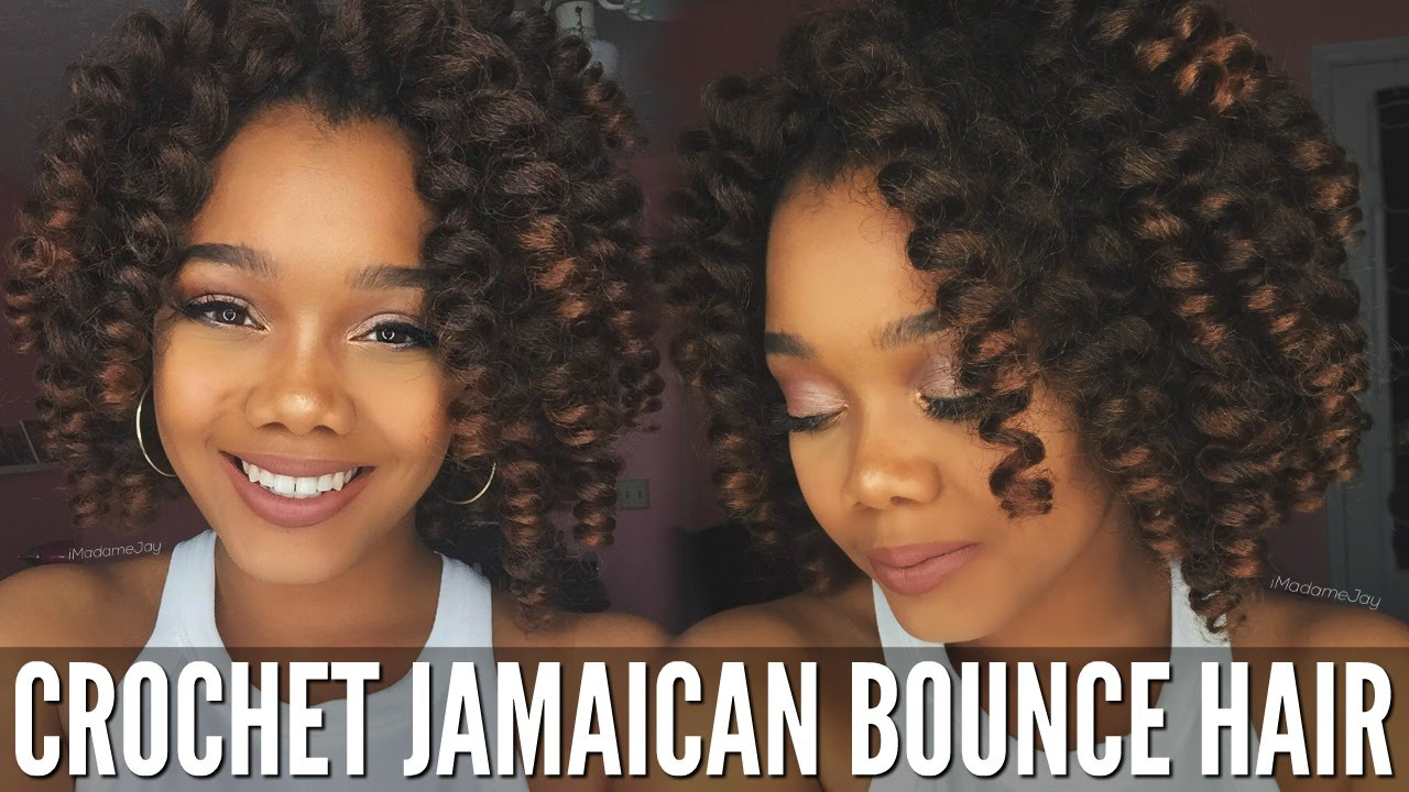 Tutorial Sensationnel Jamaican Bounce Crochet Hair Giveaway Closed You