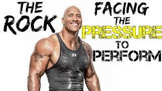The Rock on Facing Pressure to Perform FULL SPEECH