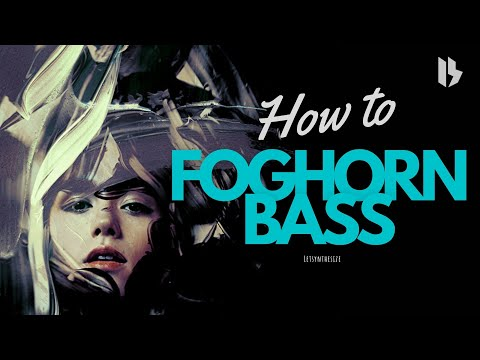 HOW TO MAKE YOUR LIFE'S BEST FOGHORN BASS IN VITAL