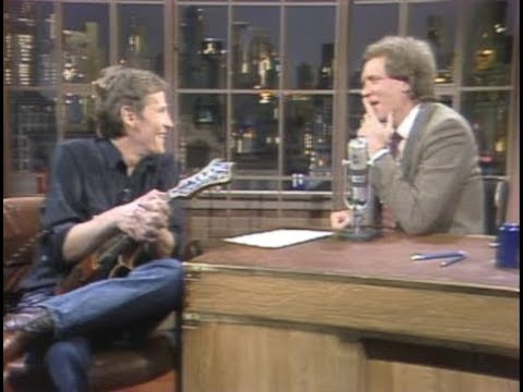 Levon Helm on Late Night, January 6 and 11, 1983