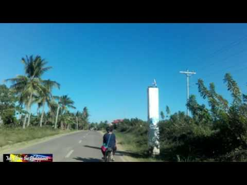 Amazing : driving in the Philippines from town to my bamboo house in the village