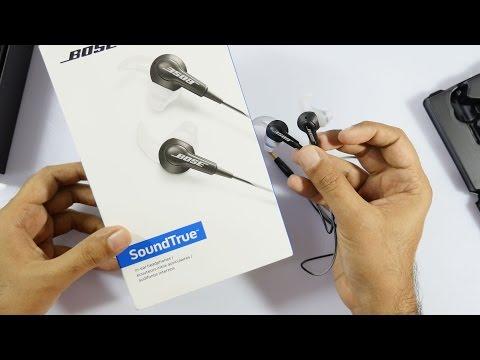 Bose SoundTrue in-ear Headphone Unboxing