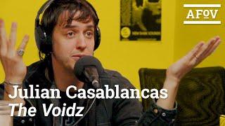JULIAN CASABLANCAS - The Voidz / The Strokes Interview | A Fistful of Vinyl