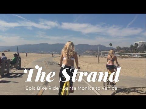 EPIC BIKE RIDE - SANTA MONICA TO VENICE BEACH 🚴🌴🎡