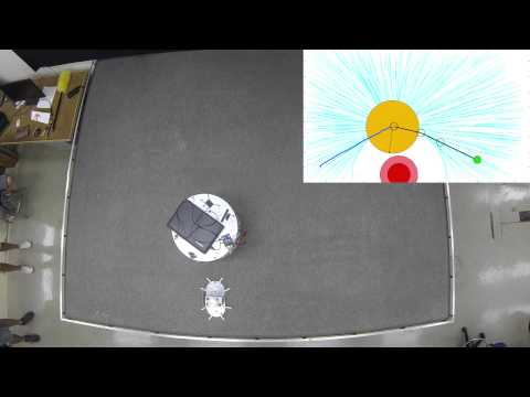 Stanford Space Robotics Facility: Real-time Obstacle Avoidance